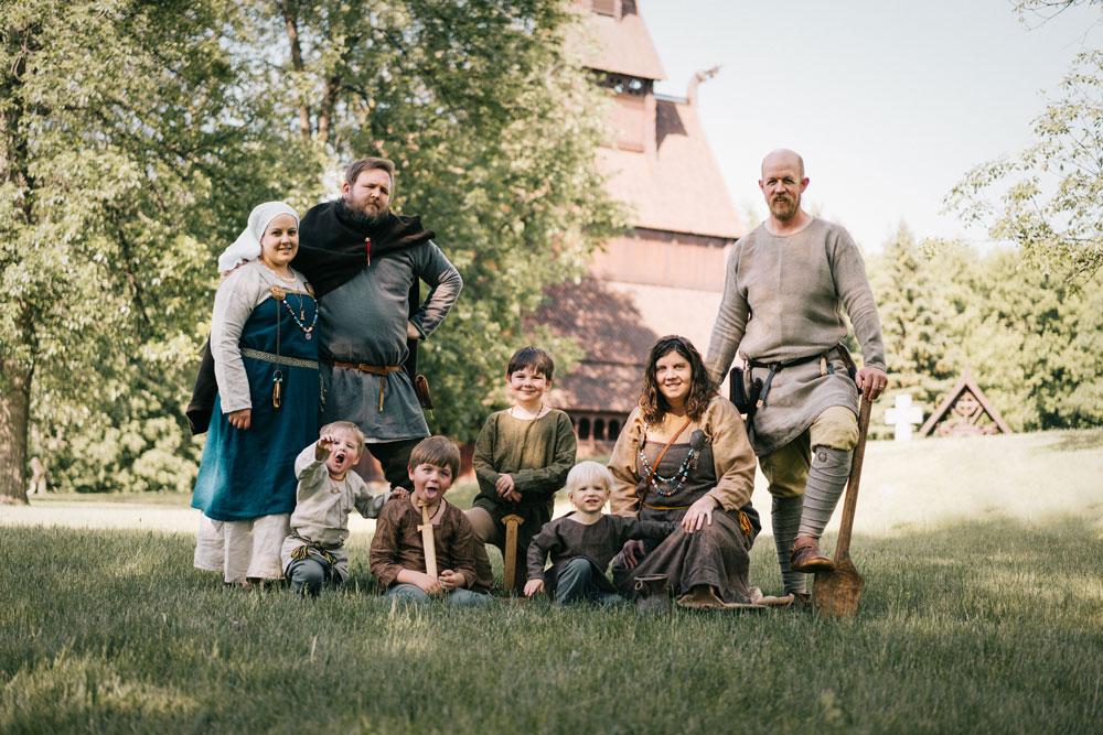 Семья у Викингов