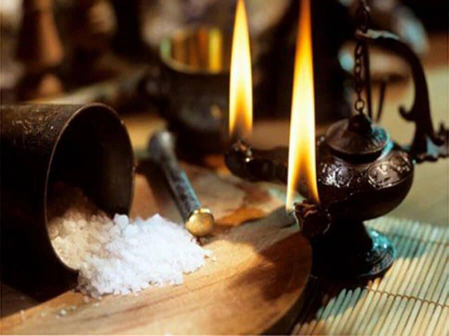Чистка дома солью